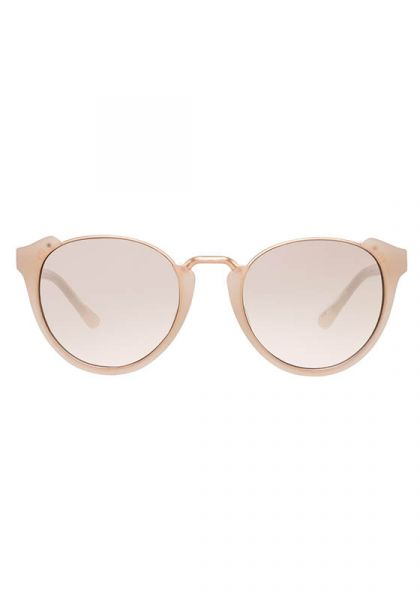 Rose Gold Oval Sunglasses