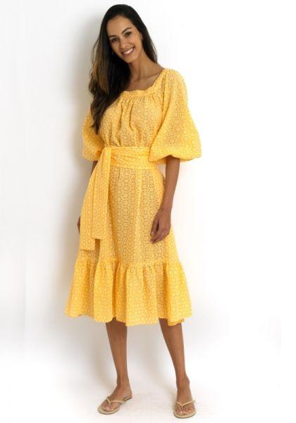 Lisa Marie Fernandez Daisy Eyelet Dress