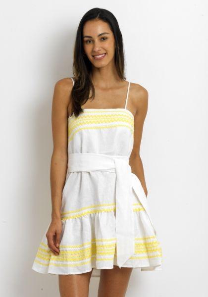 Lisa Marie Fernandez Mini Slip Dress