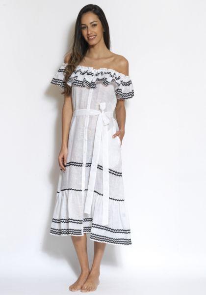 Lisa Marie Fernandez Mira Button Down Dress