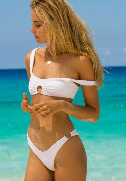 Lspace Julia Bikini White