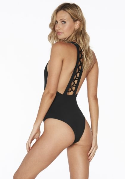 L*space Ryder Swimsuit Black
