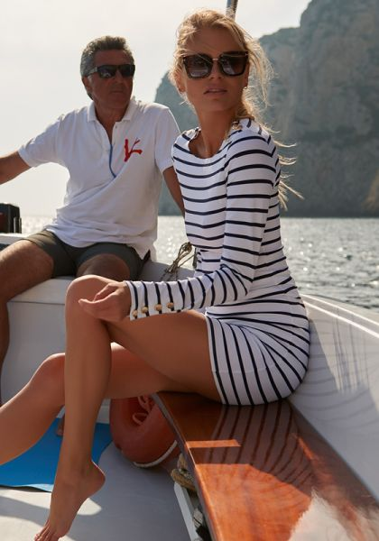 Agata Dress Marine
