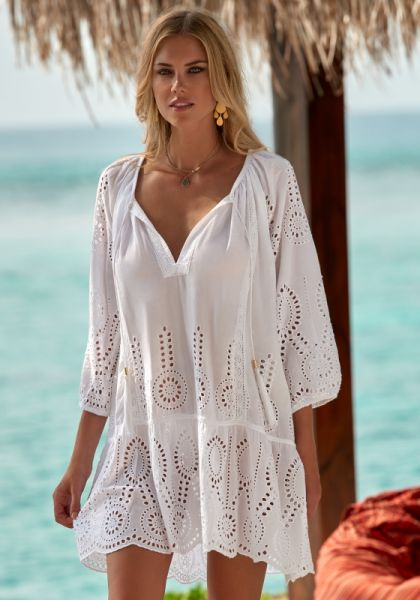 Ashley Coverup White