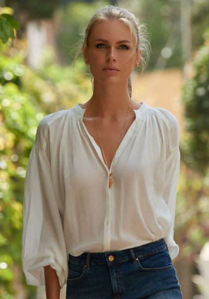 Melissa Odabash Georgia Top White