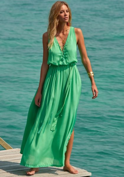 Jacquie Dress Green
