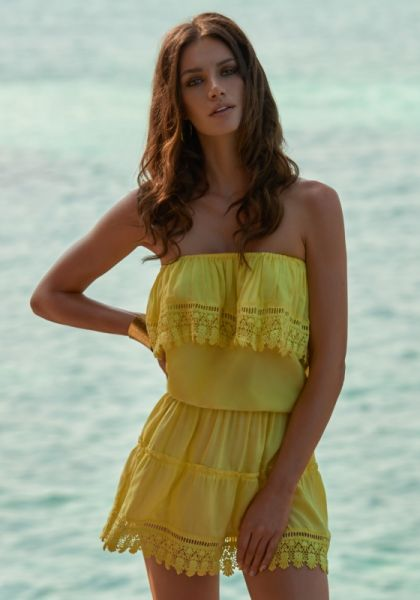 Melissa Odabash Joy Dress Yellow