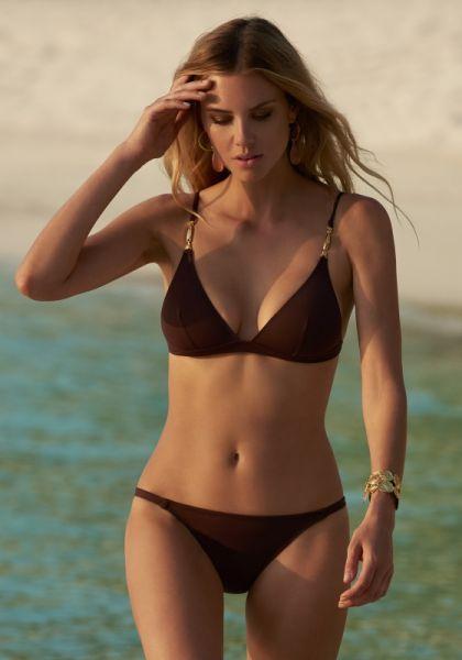 Melissa Odabash Mexico Bikini Walnut