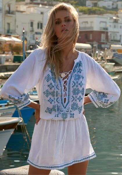 Nadja Kaftan White/Green