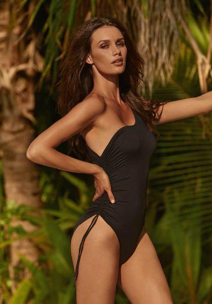Melissa Odabash Polynesia Swimsuit Black