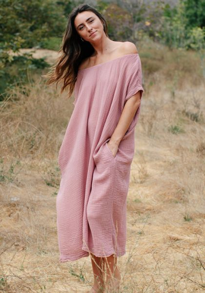 9 Seed Moonstone Kaftan Berry