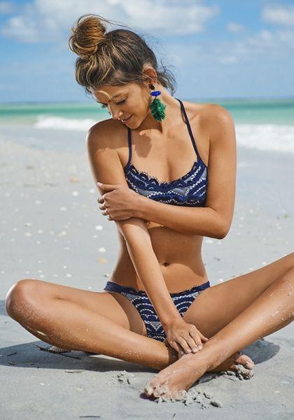 PilyQ Nautica Lace Bikini