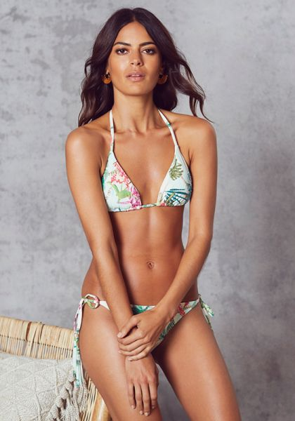 PILY Q EMBROIDERED BIKINI