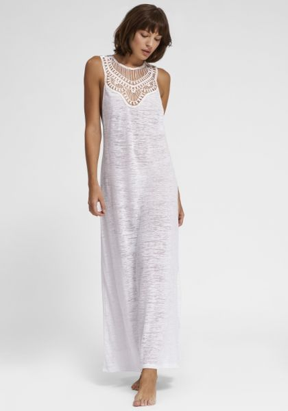 Pitusa Pharaoh Dress White
