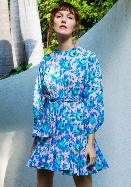 Rhode Resort Ella Dress Pop Floral
