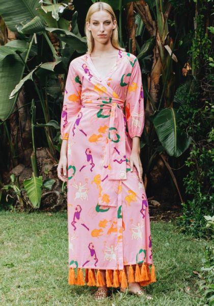 Lena Dress Pink Multi