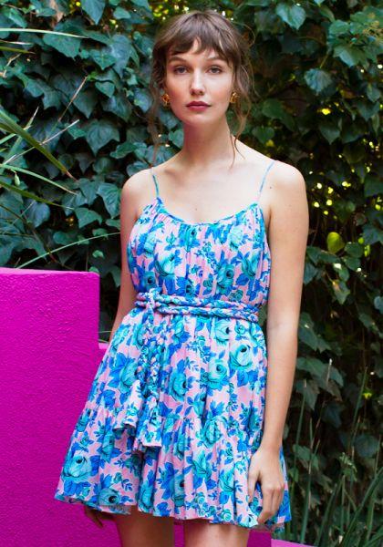 Rhode Resort Nala Dress Pop Floral