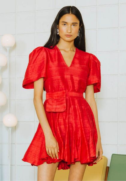 Rhode Resort Vivienne Dress Chilli