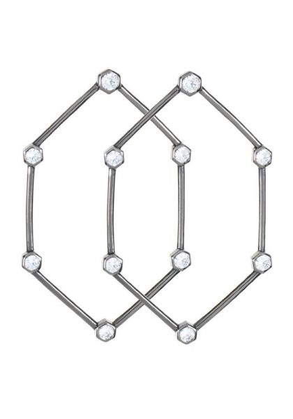 Rosie Fortescue Hexagon Earring