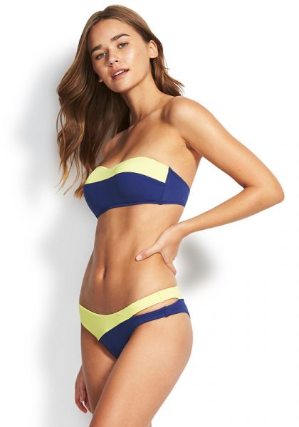 Seafolly In The Loop Spliced Bandeau Bikini