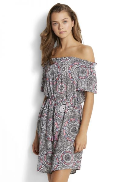 Seafolly Crochet Print Dress