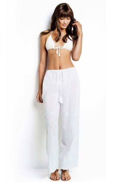 Seafolly Embroidered Pants