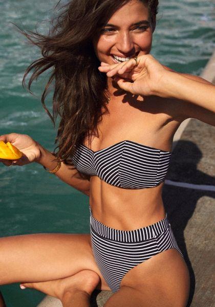 Seafolly Go Overboard Bandeau Bikini