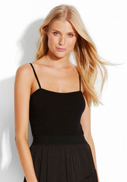 Seafolly Black Rib Bodysuit