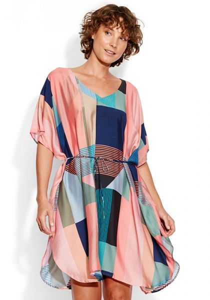 Seafolly Modern Art Kaftan
