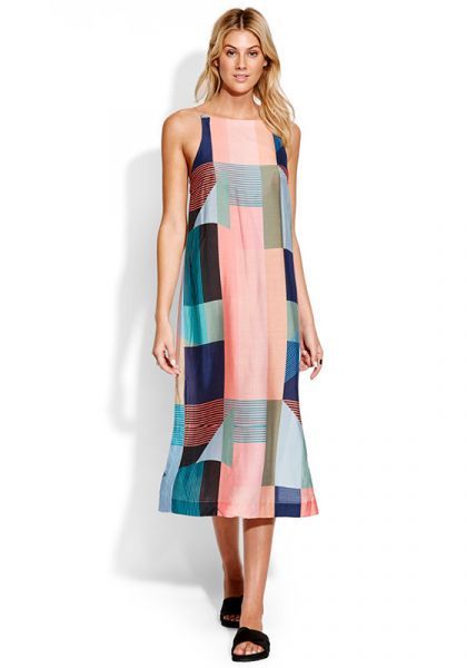 Seafolly Modern Art Slip Dress