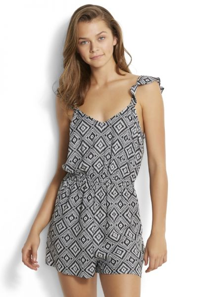 Seafolly Tribal Jacquard Playsuit