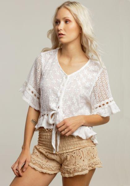 Sunday St Tropez Folk Shirt