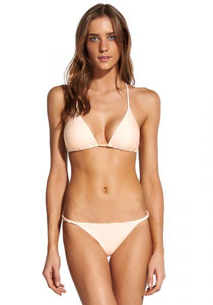 Vix Swimwear Solid Ella Tri Bikini