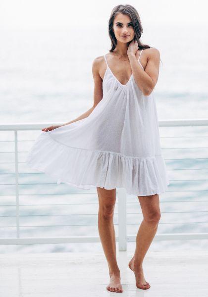 8ace6522621e 9Seed   St Tropez Ruffle Dress   Beach Cafe UK