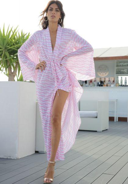 Alexandra Miro Betty Gown Pink Geo