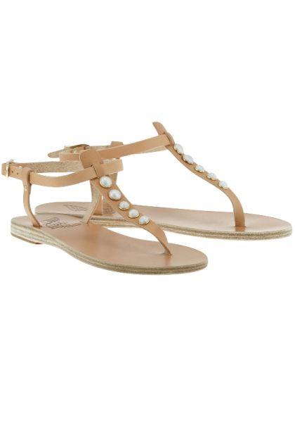 Ancient Greek Sandals Lito Pearl Sandals