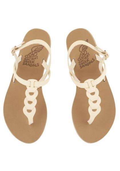 Ancient Greek Lito Sandals Off White