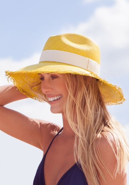 Artesano Yellow Brisa Hat