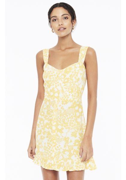 Faithfull The Brand Lou Lou Mini Dress