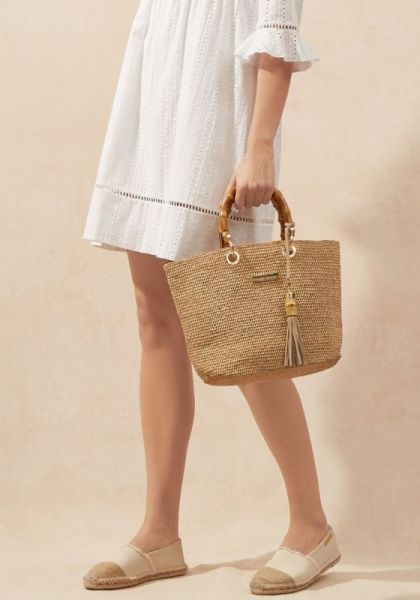 Heidi Klein Savannah Bamboo Bag Mini