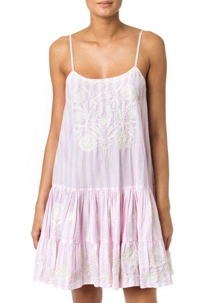 Juliet Dunn Stripe Strappy Dress