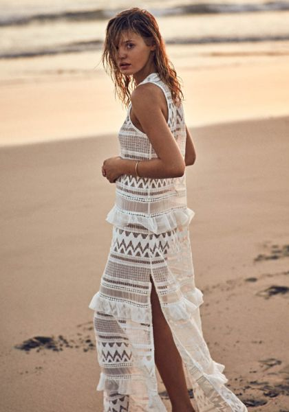 Estela Tiered Maxi Dress