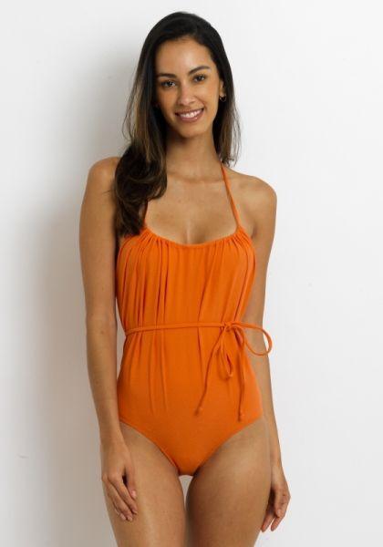 Lisa Marie Fernandez Charlotte swimsuit Orange
