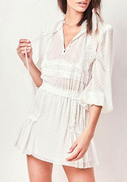 Love Shack Fancy Amber Mini Dress