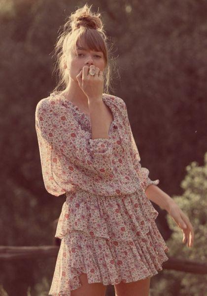 Loveshackfancy Sunrise Popover Dress
