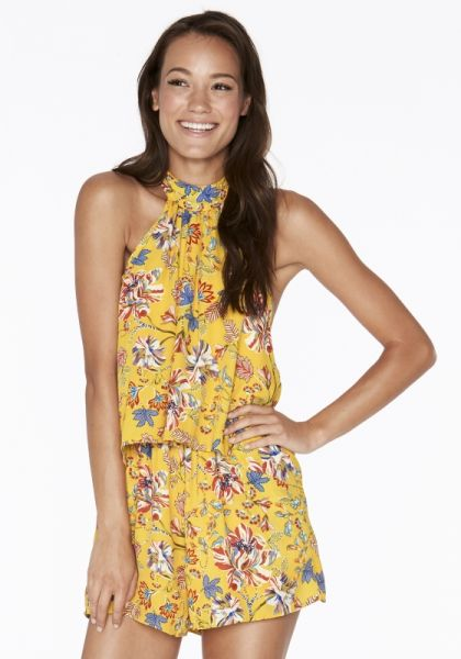 Lspace Kelly Pacific Bloom Romper