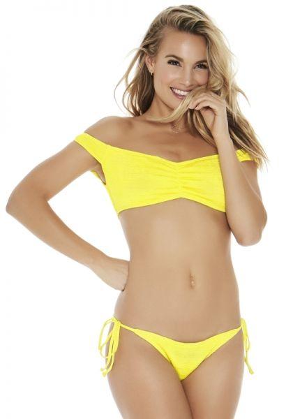 Lspace Pucker Up Ziggy Bikini Yellow