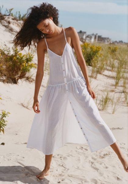 Seafolly Drop Waist Midi Dress