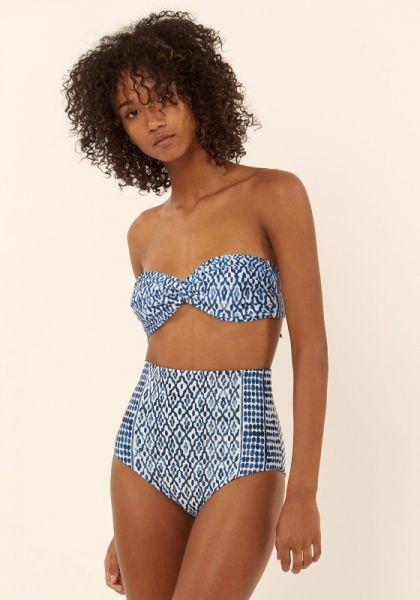 Mara Hoffman Midnight High Waist Bikini
