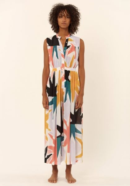Mara Hoffman Superstar Gathered Jumpsuit